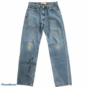 Levi's 550 Relaxed Fit Distressed Jeans Tapered 34